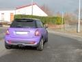 BMW Mini Vollfolierung Lila & Scheibentönung Phantom 85 (3)
