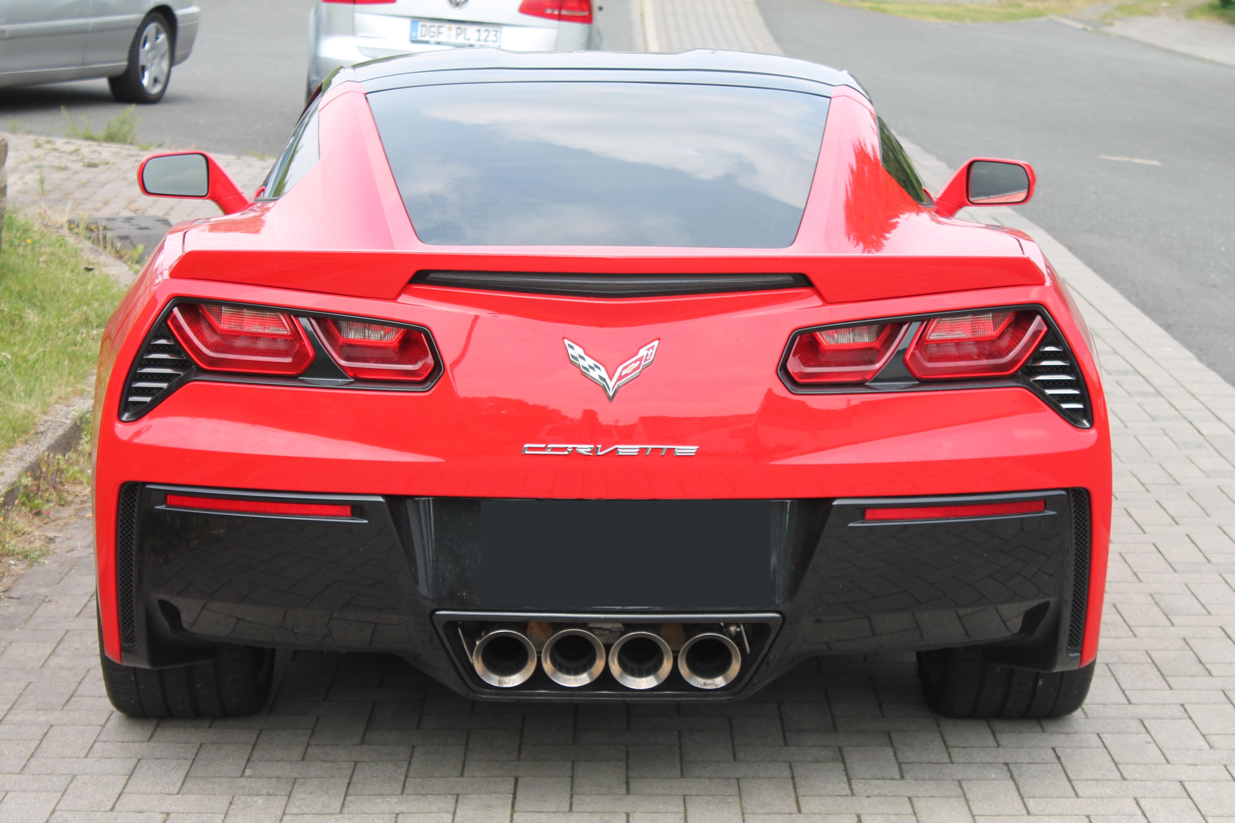 Tönungsfolie Corvette C7 Phantom95