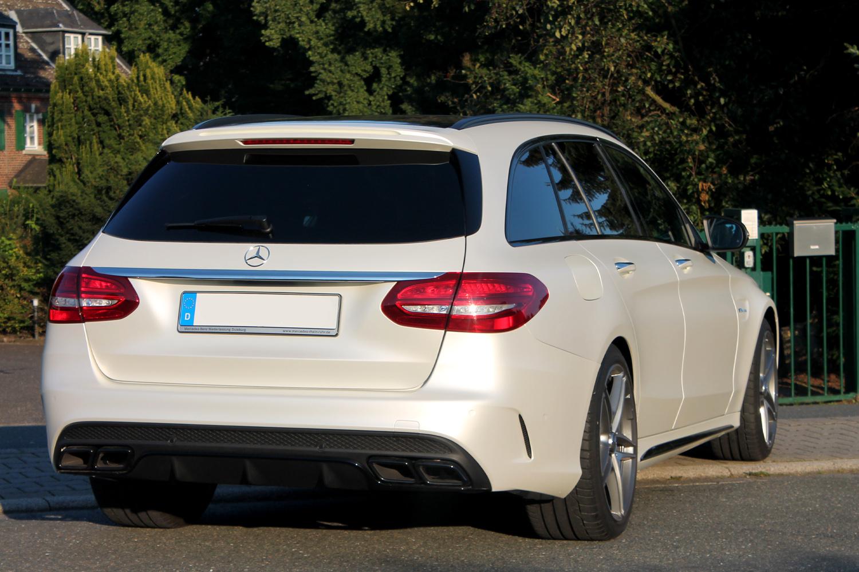 Mercedes Amg C63 T Modell Individualisiert Mit 3m Satin