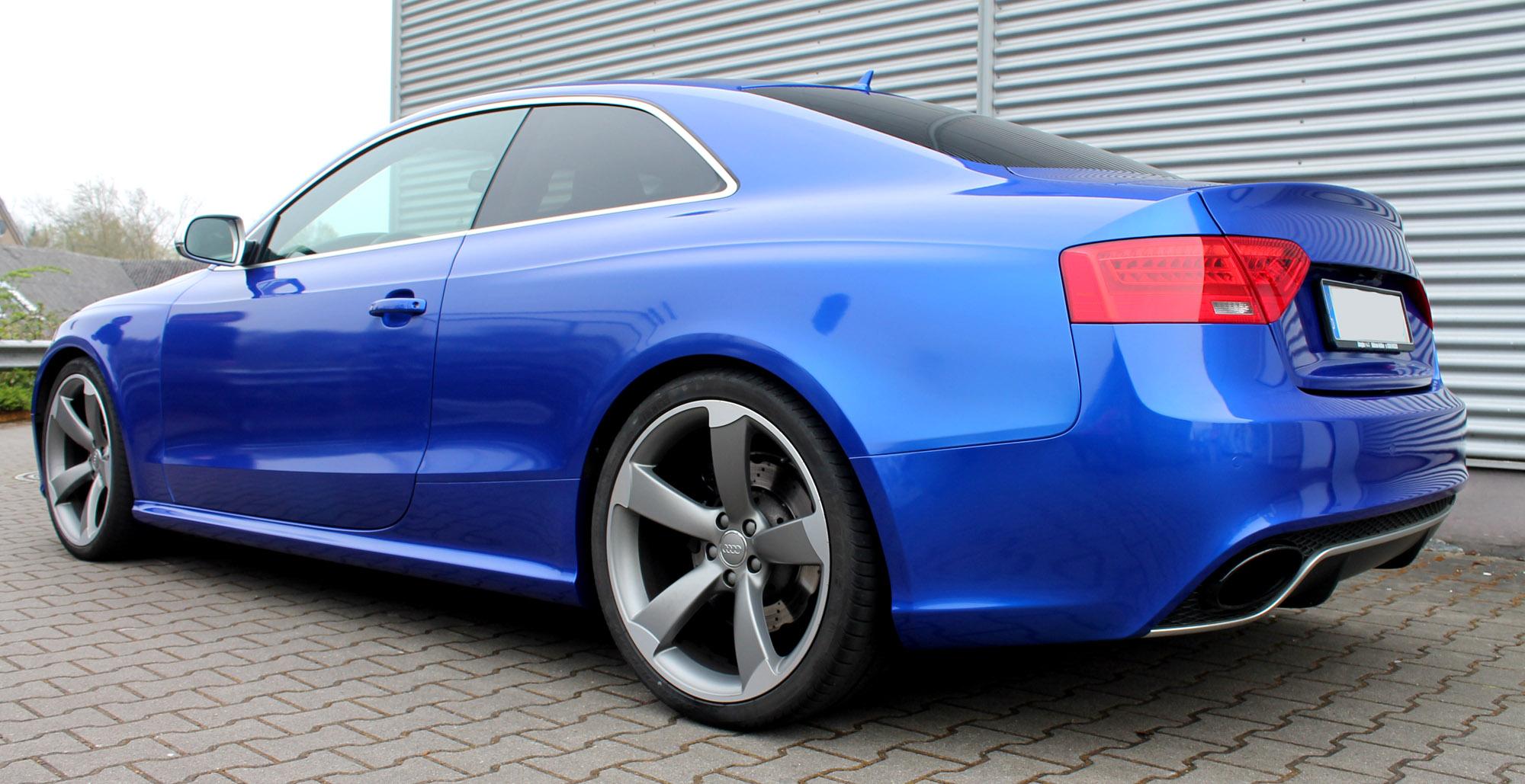 Carwrapping Vollfolierung Mit 3m Gloss Cosmic Blue Auf